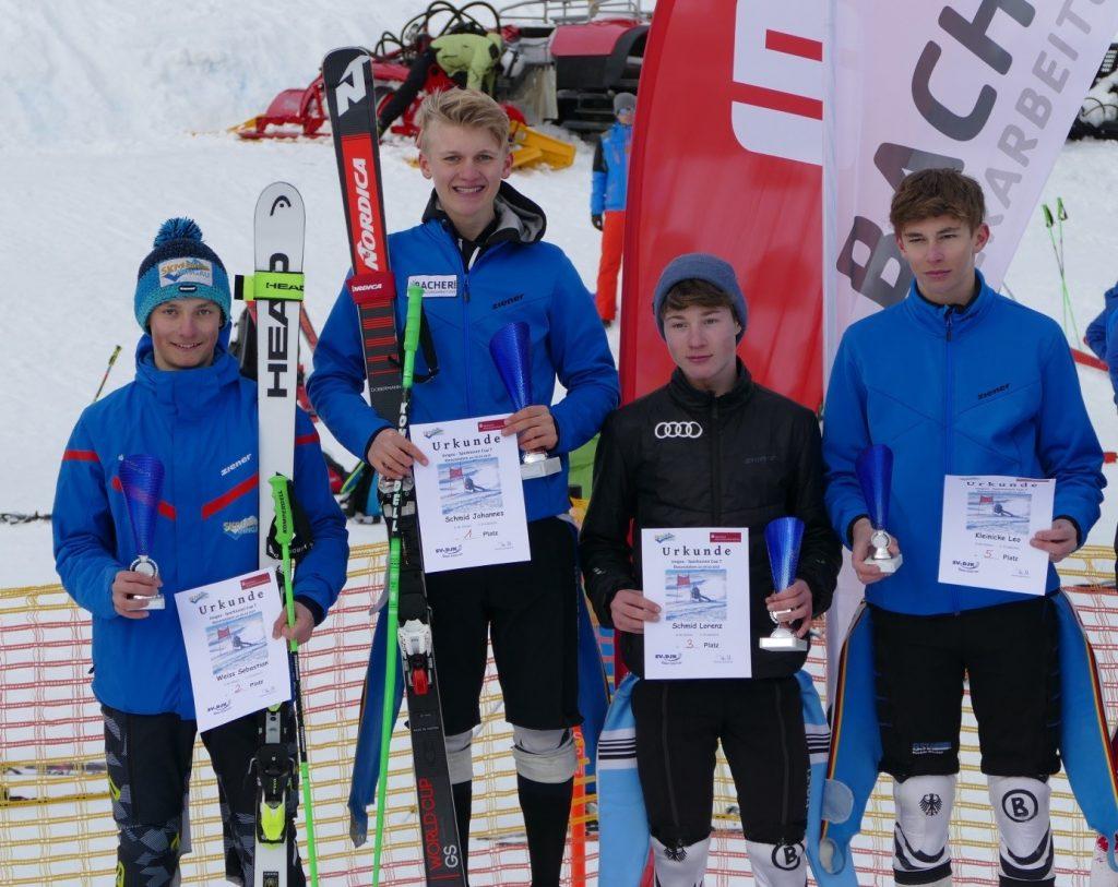 Platz 1 - 3 für den SC Rosenheim bei den Jungs U16